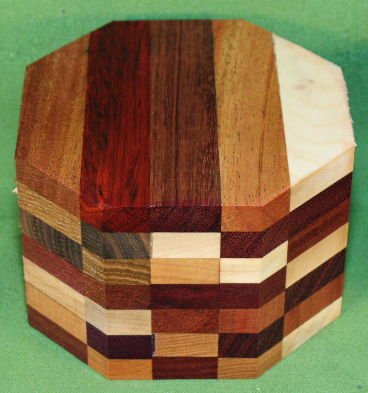 how to make a segmented bowl blank