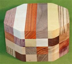 "Bowl #473 - Crazy Eclectic Segmented Bowl Blank ~ 6"" x 3 1/2"" ~ $37.99, Two only $32.99 Each"