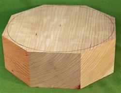 "Bowl #514 - Large Solid Cherry Bowl Blank ~ 8"" x 3"" ~ $36.99"