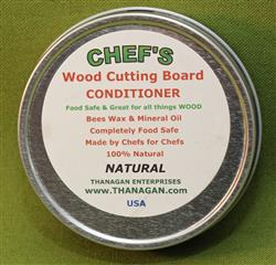 CHEF'S Wood Conditioner, Natural, 4 ounces - Only $7.99