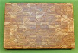 "Board #942  Larch / Tamarack End Grain Cutting Board - Large & Thick - 18"" x 12"" x 2"" - $109.99"