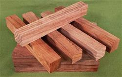 "Blank #331 - Bloodwood Solid Pen Turning Blanks, Set of 15 ~ 7/8"" x 7/8"" x 6+"" ~ $29.99"