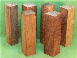 "Blank #720 - Jatoba Extra Long Solid Turning Blanks ~ 6 Each ~ 1 1/2"" x 1 1/2"" x 6"" ~ $18.99"