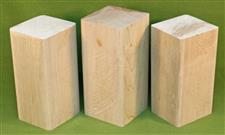 "Blank #700 - Maple Solid Turning Blanks ~ 3 Each ~ 3"" x 3"" x 6"" ~ $19.99"