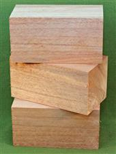 "Blank #737 - African Mahogany Turning Blanks ~ 3 Each ~ 2 3/4"" x 2 3/4"" x 5 1/4"" ~ $26.99"