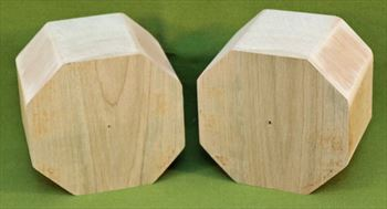 "Bowl #602 - Maple Bowl Blanks ~ Set of Two ~ 4"" x 3"" High ~ $21.99"