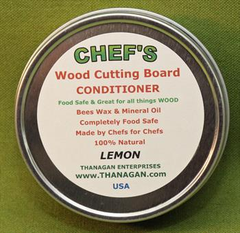 CHEF'S Wood Conditioner, Lemon, 4 ounces - Only $7.99