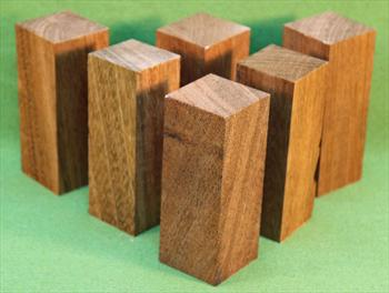"Blank #705 - Jatoba Extra Long Bottle Stopper Solid Turning Blanks ~ 6 Each ~ 1 1/2"" x 1 1/2"" x 4"" ~ $11.99"