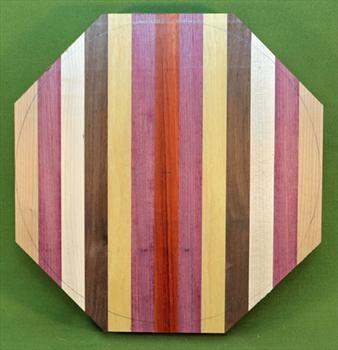 "Platter #922 - Layered / Segmented Platter Blank ~ 11 1/4"" x 1 1/4"" High ~ $34.99"
