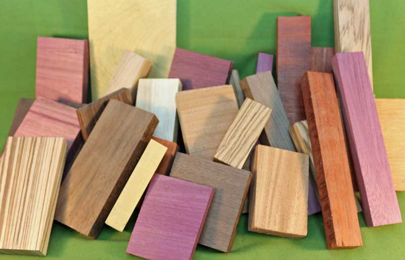 Wood Craft Pack Exotic Orted Sizes Types A Great Value 917